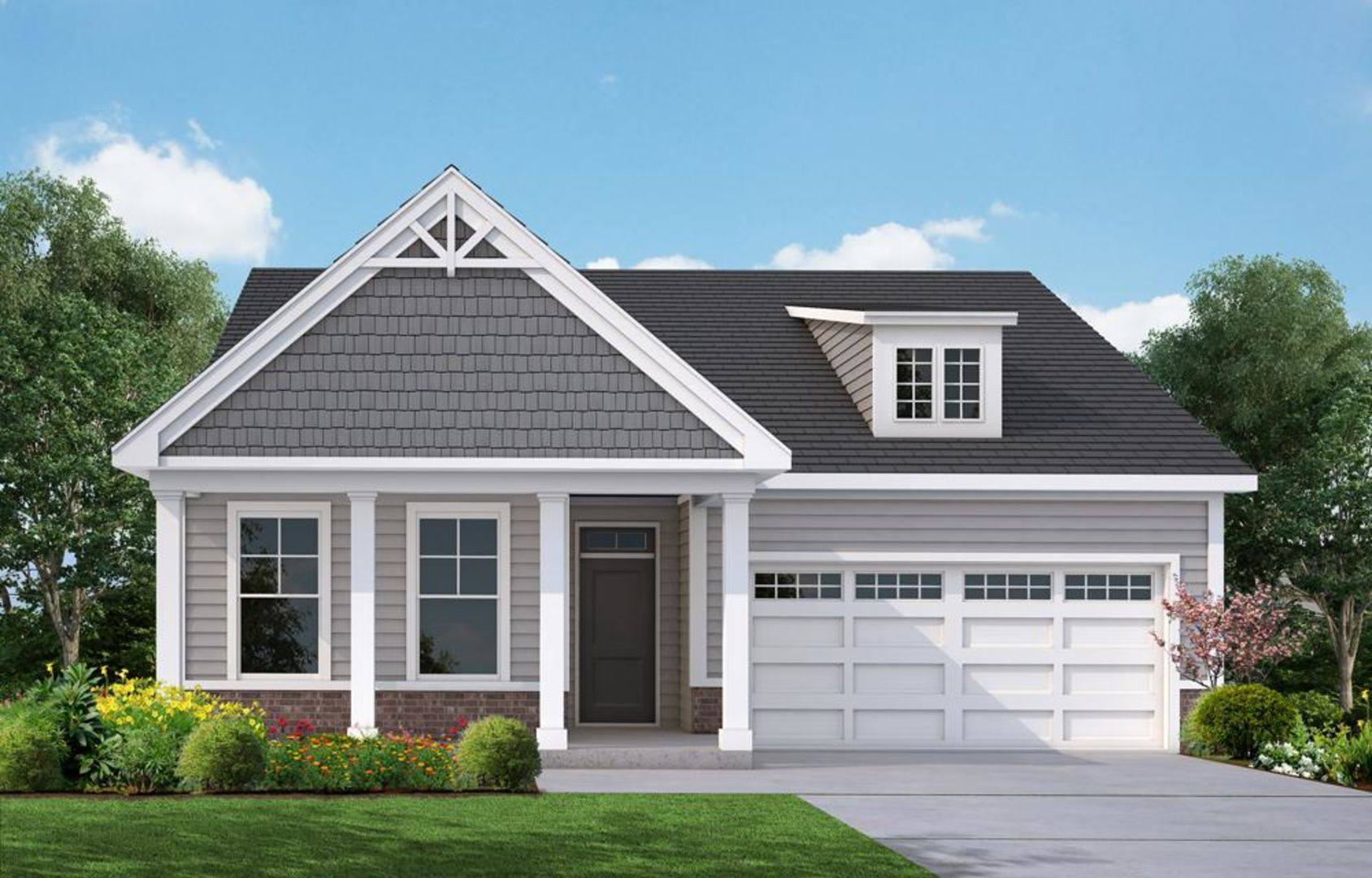Exterior featured in the Belair By HH Homes in Myrtle Beach, SC