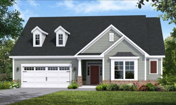 Interior:Ocean Isle Elevation - B-2  Two Story Compressed