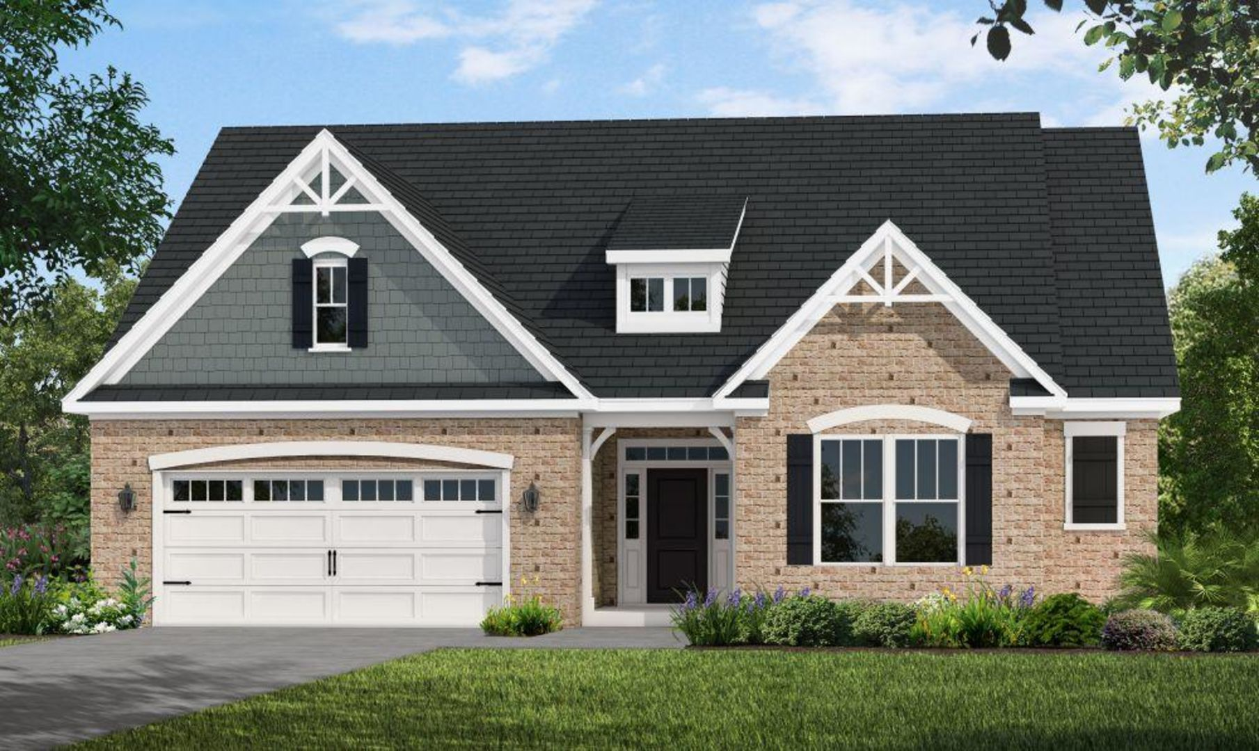 Exterior featured in the Ocean Isle 2 Story By HH Homes in Myrtle Beach, SC