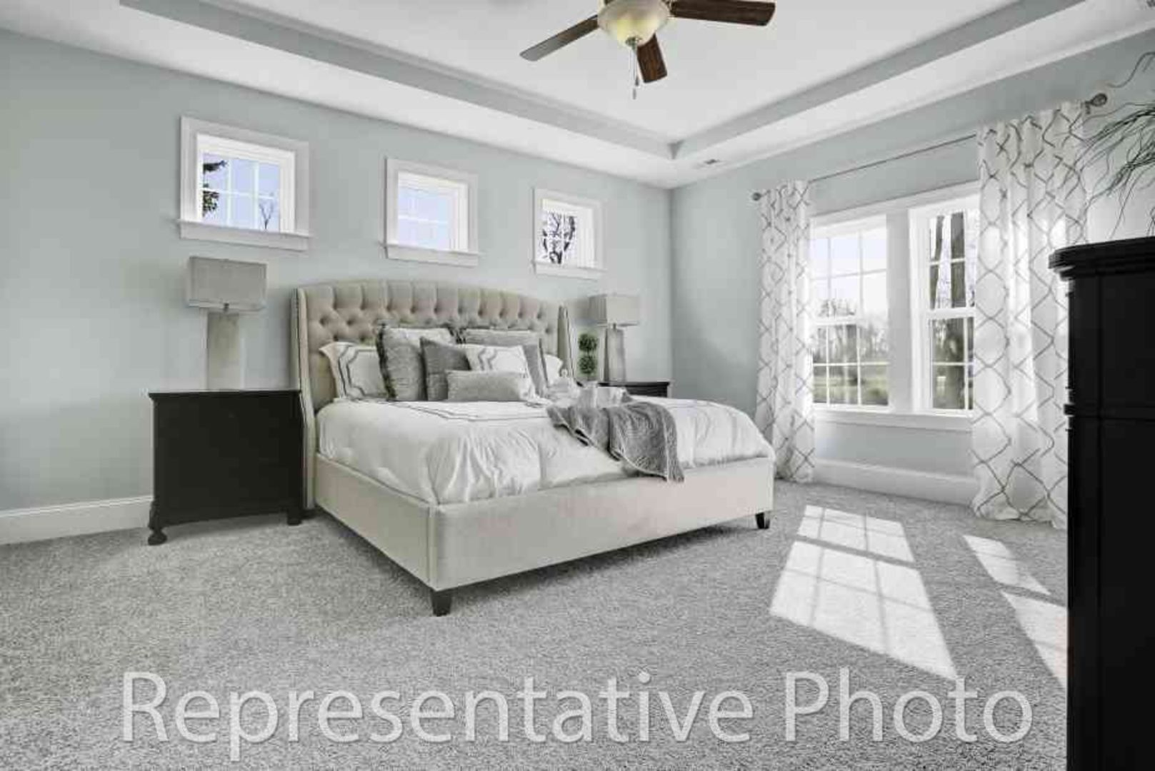 Bedroom featured in the Calabash By HH Homes in Charlotte, SC