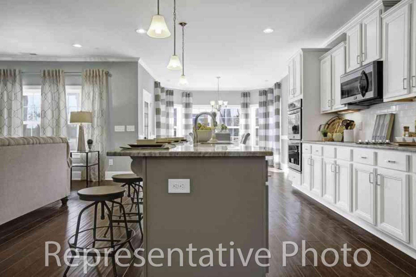 Kitchen featured in the Calabash By HH Homes in Charlotte, SC