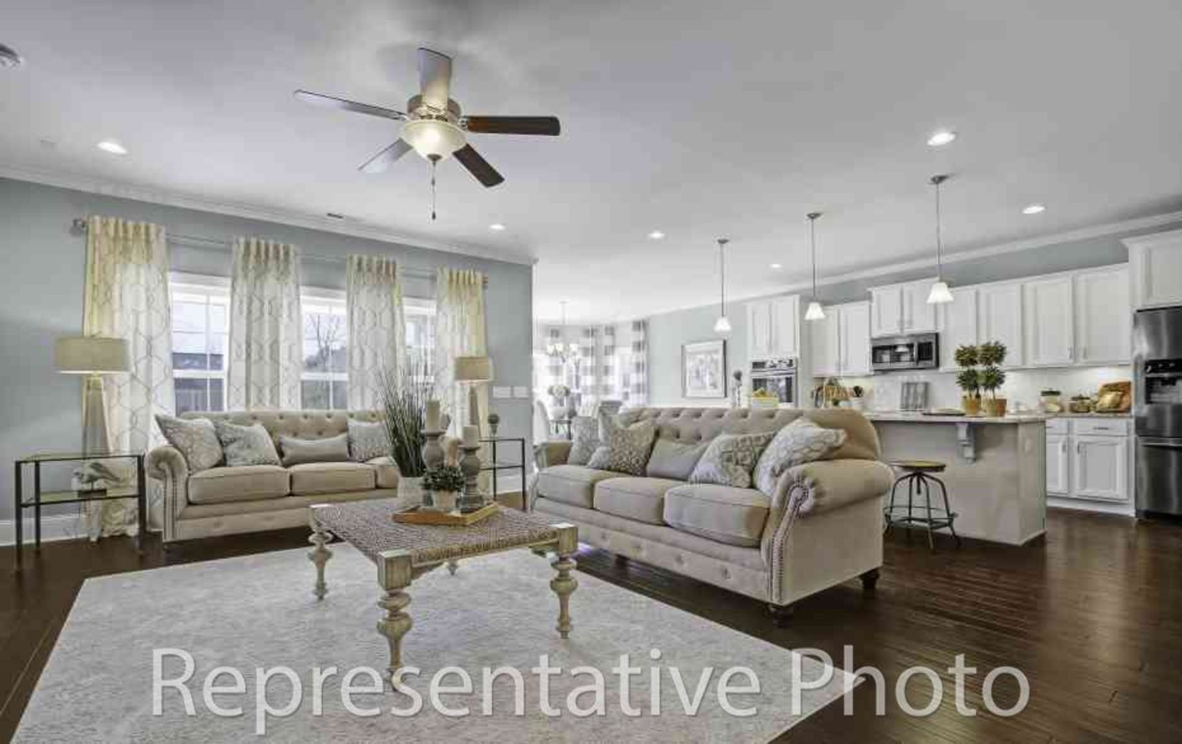 Living Area featured in the Calabash By HH Homes in Charlotte, SC
