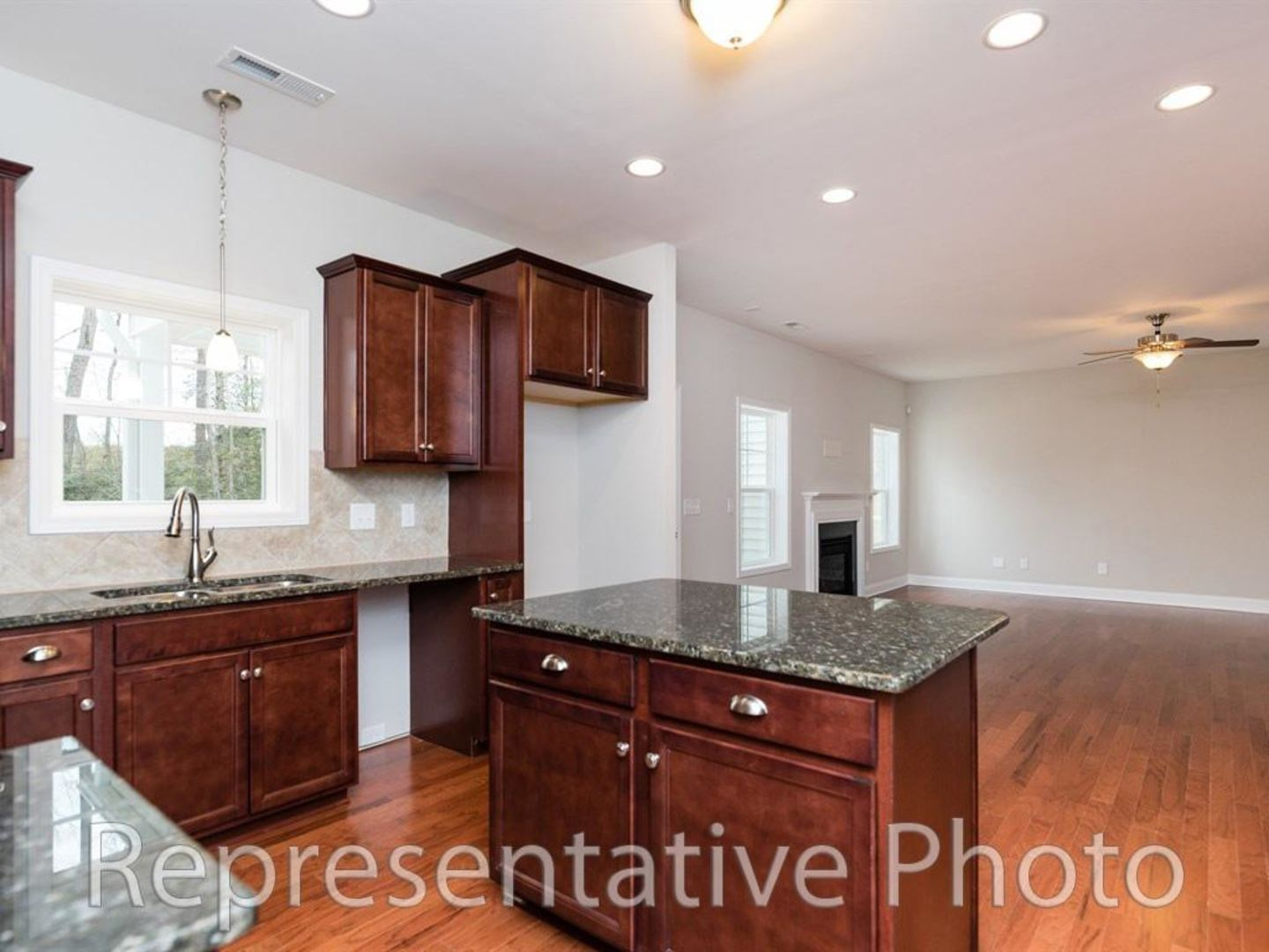 Kitchen featured in the Wilmington 2865 By HH Homes in Raleigh-Durham-Chapel Hill, NC