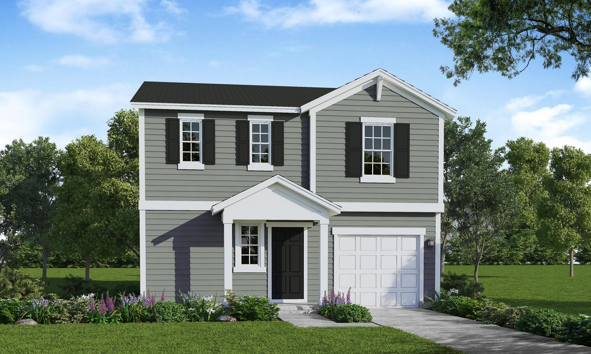Exterior featured in the Engage By HH Homes in Raleigh-Durham-Chapel Hill, NC