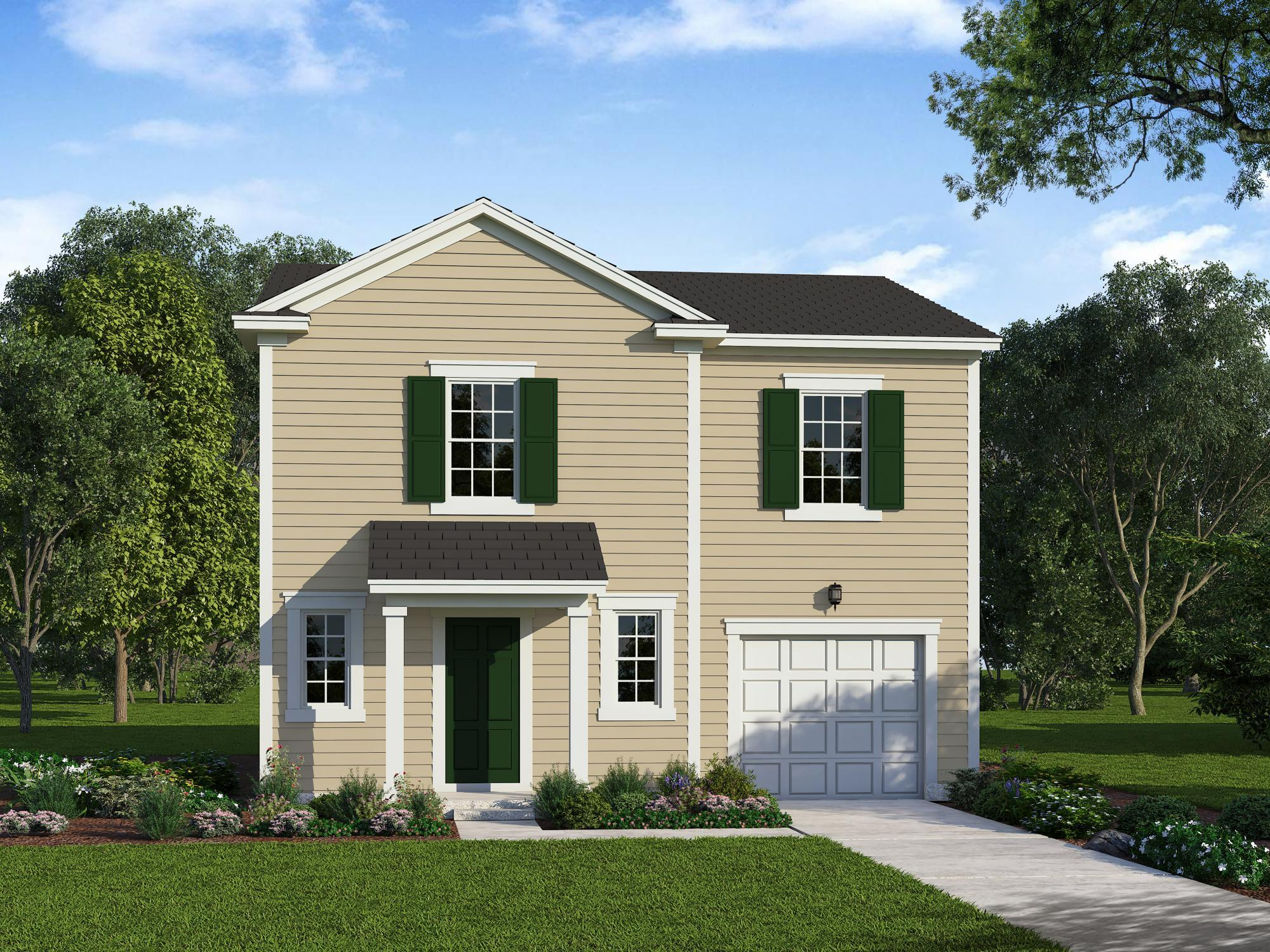 Exterior featured in the Freelance By HH Homes in Raleigh-Durham-Chapel Hill, NC