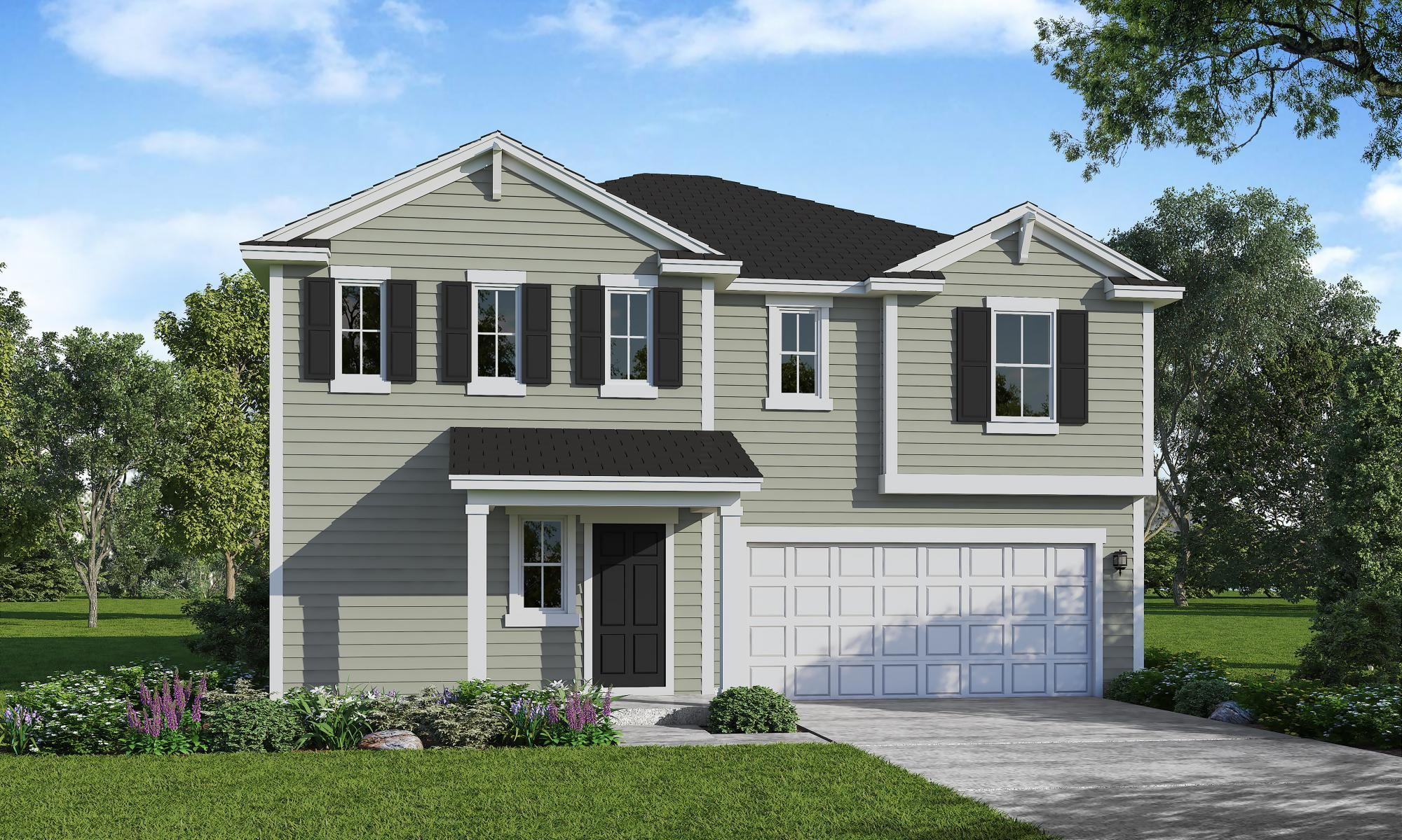 Exterior featured in the Wayfare By HH Homes in Raleigh-Durham-Chapel Hill, NC