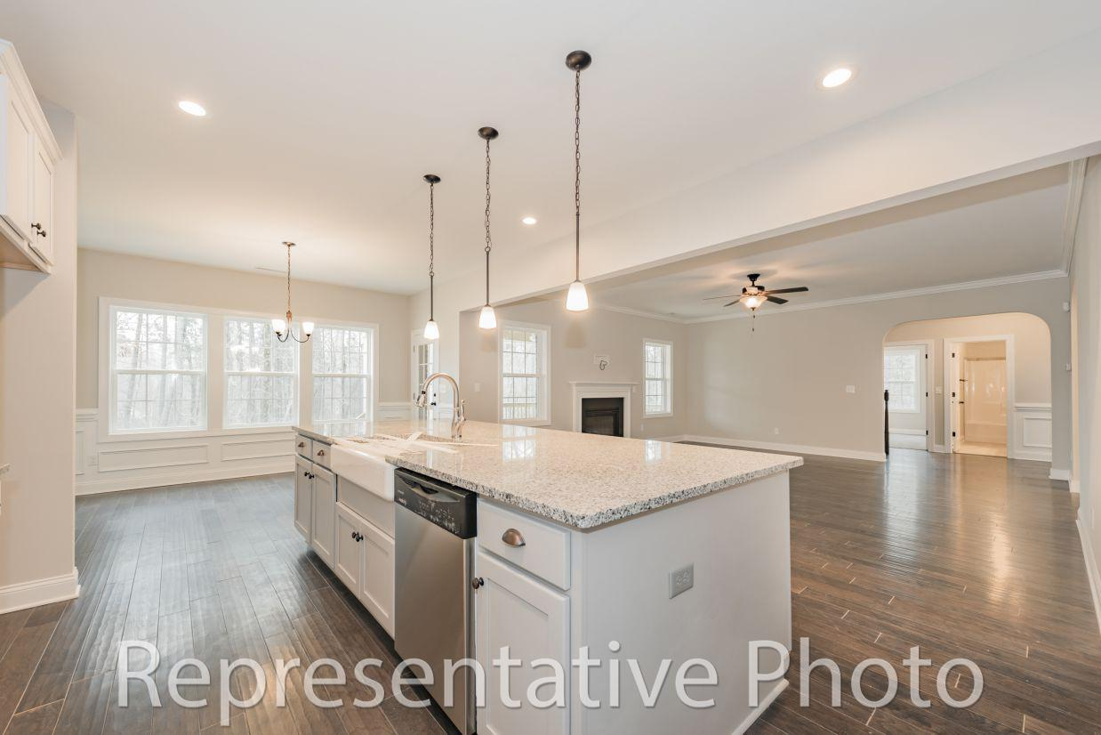 Kitchen featured in the Roosevelt By HH Homes in Raleigh-Durham-Chapel Hill, NC