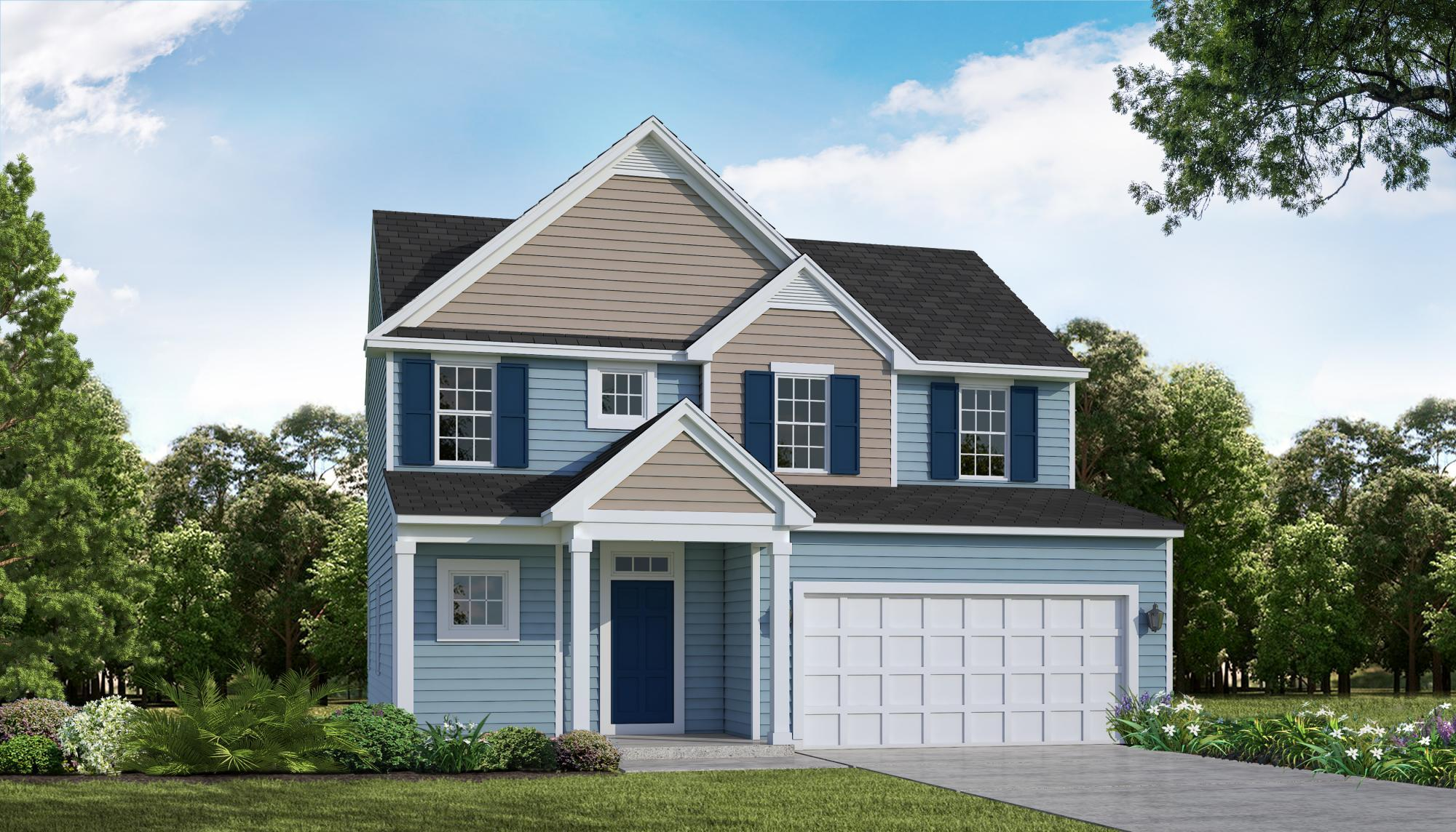 Exterior featured in the Riverbirch By HH Homes in Myrtle Beach, SC