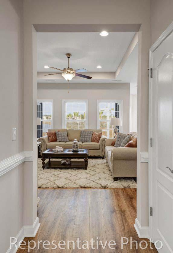 Living Area featured in the Harmony By HH Homes in Wilmington, NC