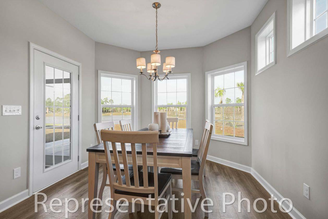 Kitchen featured in the Harmony By HH Homes in Wilmington, NC