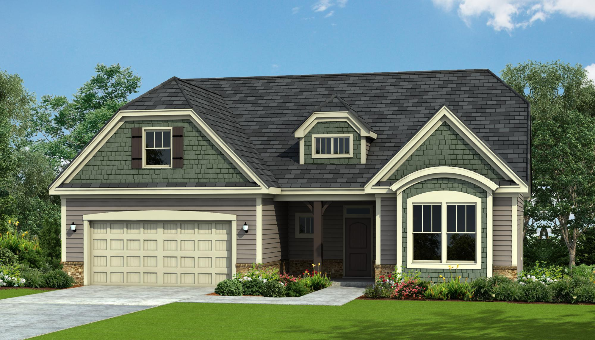 Exterior featured in the Wrightsville By HH Homes in Jacksonville, NC