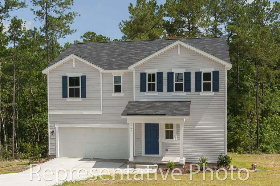 Exterior featured in the Wayfare By HH Homes in Pinehurst-Southern Pines, NC