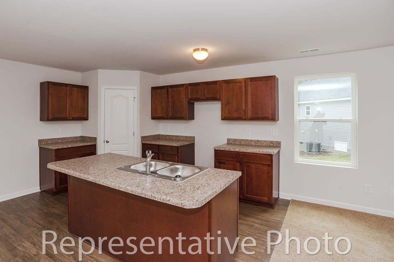 Kitchen featured in the Wayfare By HH Homes in Fayetteville, NC