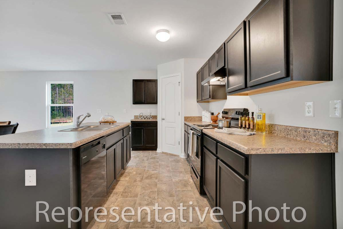 Kitchen featured in the Embark By HH Homes in Fayetteville, NC