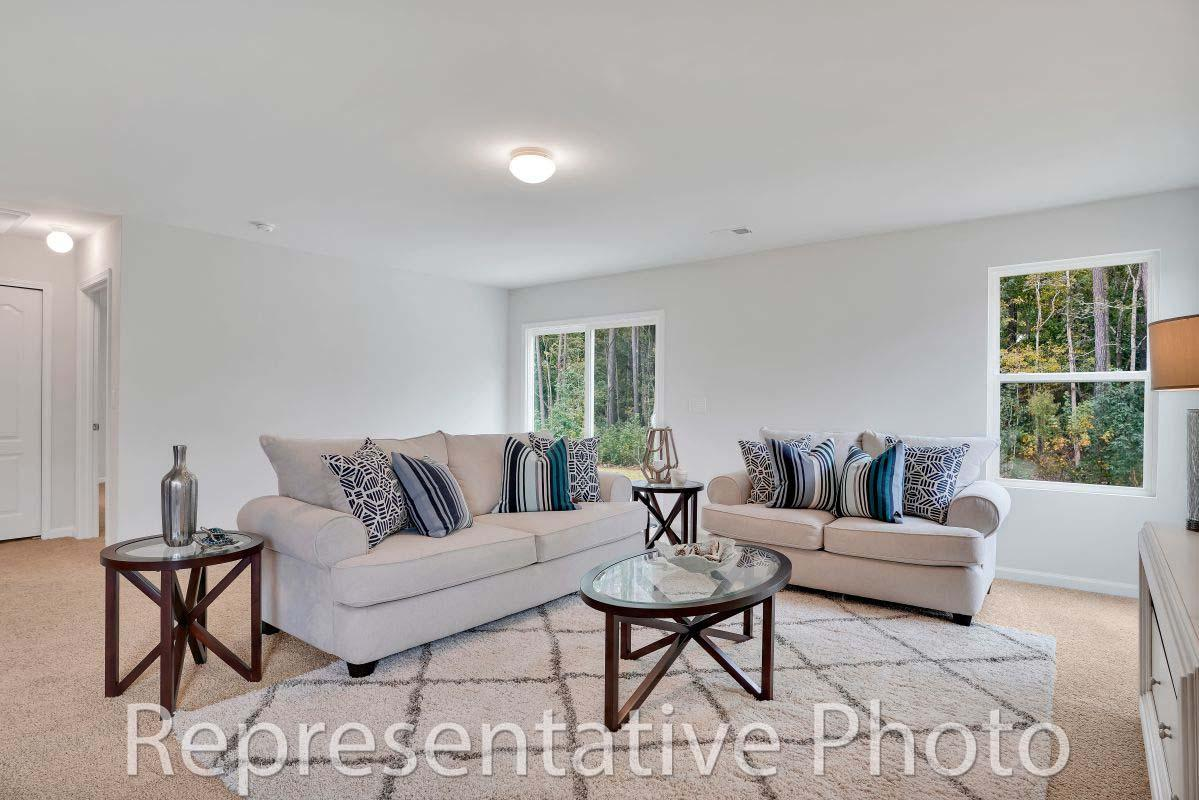Living Area featured in the Embark By HH Homes in Pinehurst-Southern Pines, NC