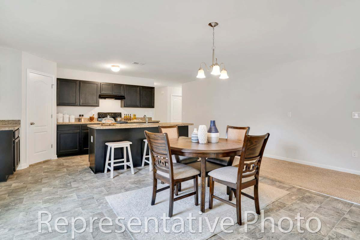 Kitchen featured in the Embark By HH Homes in Wilmington, NC