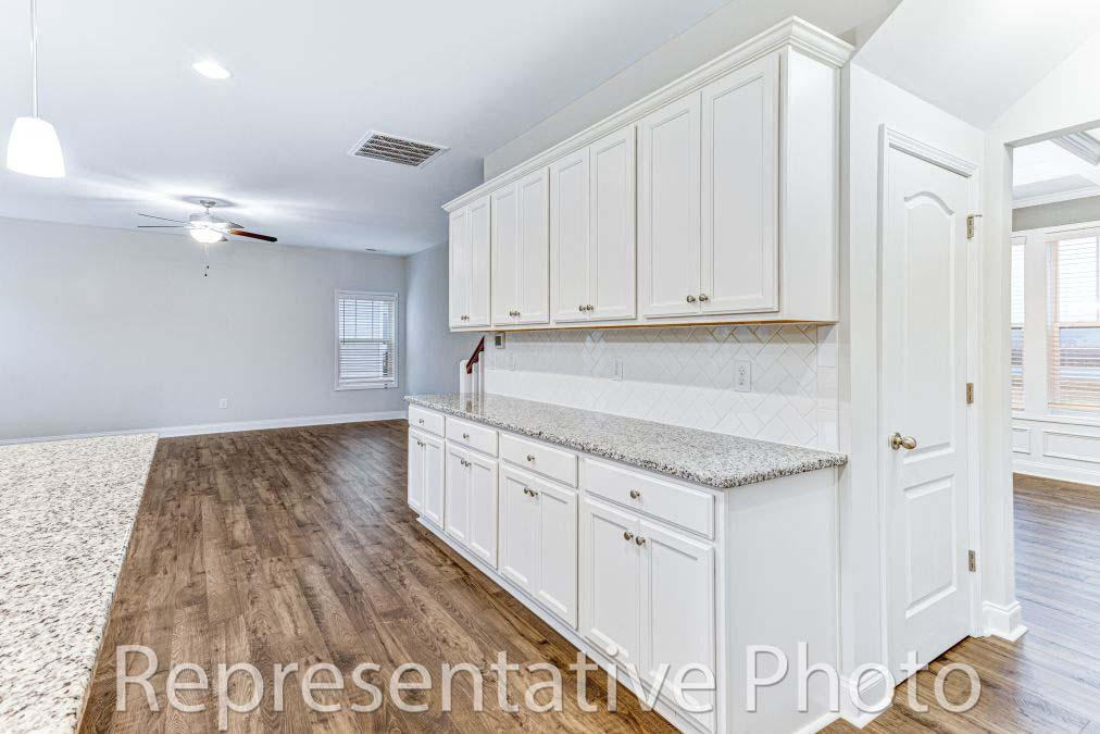 Kitchen featured in the Southport By HH Homes in Fayetteville, NC