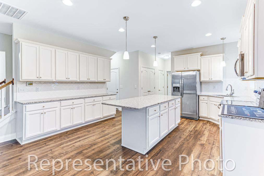Kitchen featured in the Southport By HH Homes in Raleigh-Durham-Chapel Hill, NC