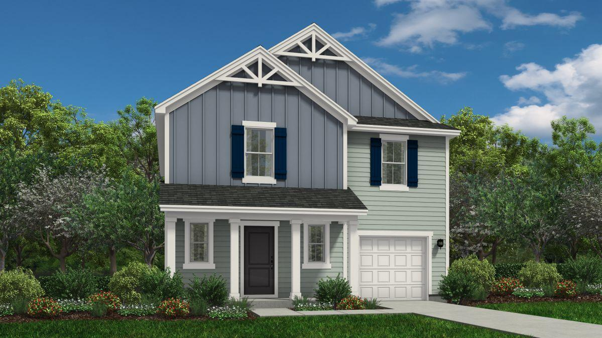 Exterior featured in the Freelance By HH Homes in Pinehurst-Southern Pines, NC