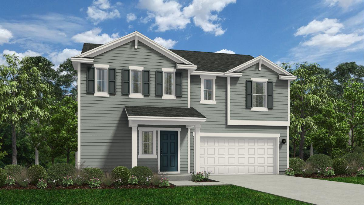 Exterior featured in the Wayfare By HH Homes in Fayetteville, NC