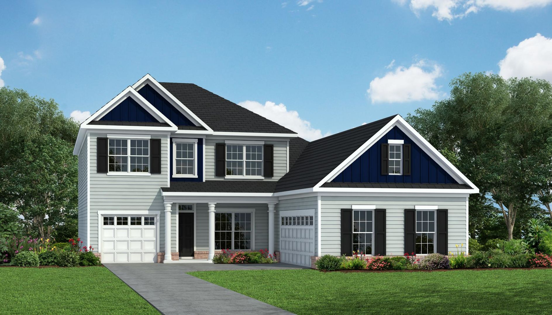 Exterior featured in the Hickory By HH Homes in Wilmington, NC