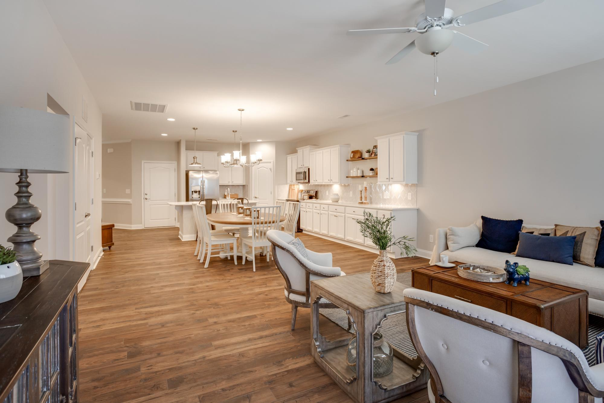 Living Area featured in the Ivy Townhome By HH Homes in Greensboro-Winston-Salem-High Point, NC
