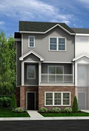 Hawthorne - Townes at Falls Pointe: Wake Forest, North Carolina - HH Homes