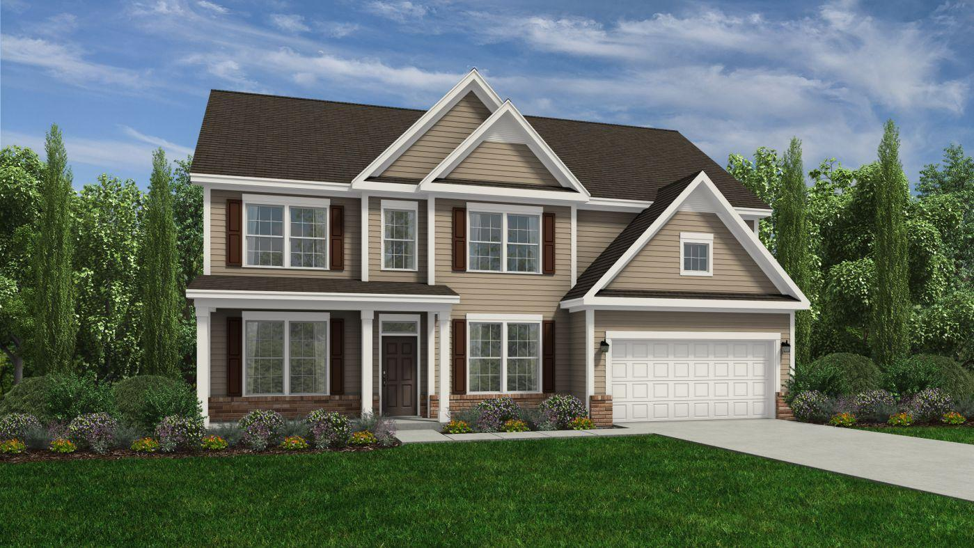 Exterior featured in the Southport By HH Homes in Fayetteville, NC