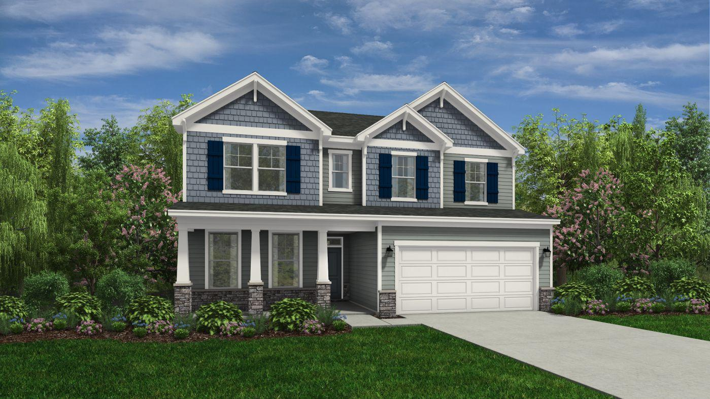 Exterior featured in the Trillium By HH Homes in Wilmington, NC