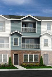 Poplar - Townes at Falls Pointe: Wake Forest, North Carolina - HH Homes
