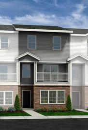 Twinberry - Townes at Falls Pointe: Wake Forest, North Carolina - HH Homes