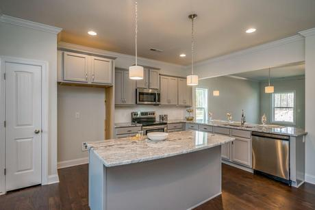 Kitchen-in-Florence-at-Central Station at Knightdale Station-in-Knightdale