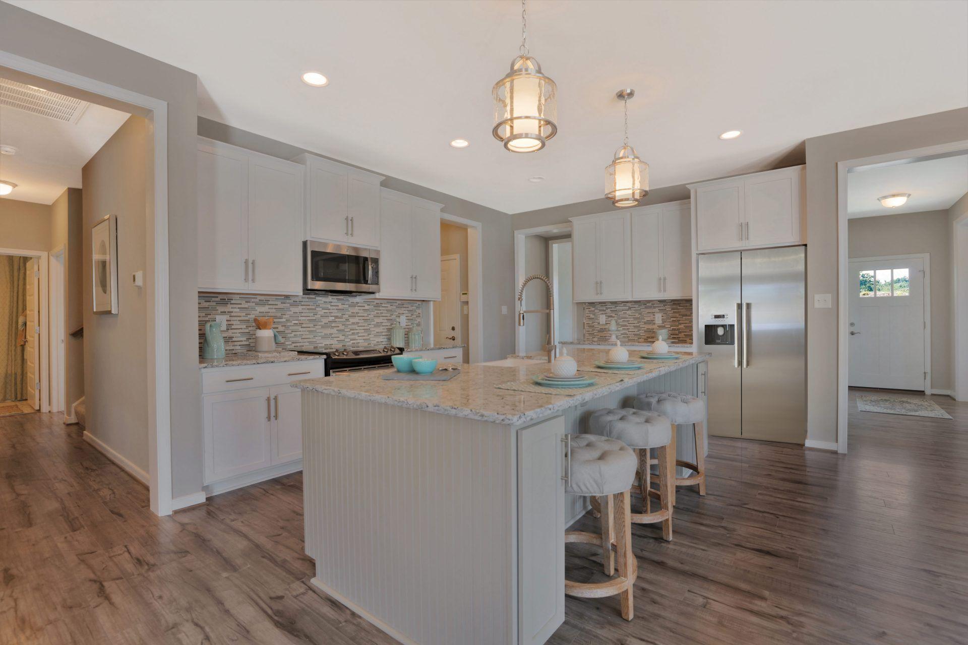 Kitchen featured in the Savannah By HHHunt Homes LLC in Richmond-Petersburg, VA