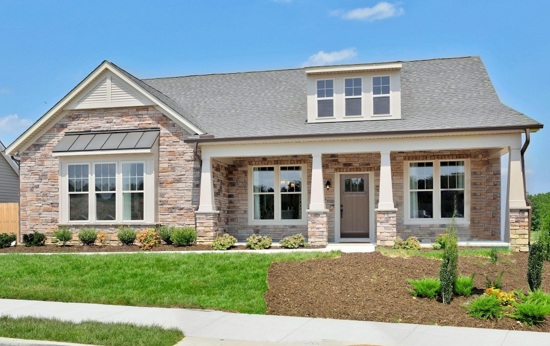Exterior featured in the Delray By HHHunt Homes LLC in Richmond-Petersburg, VA