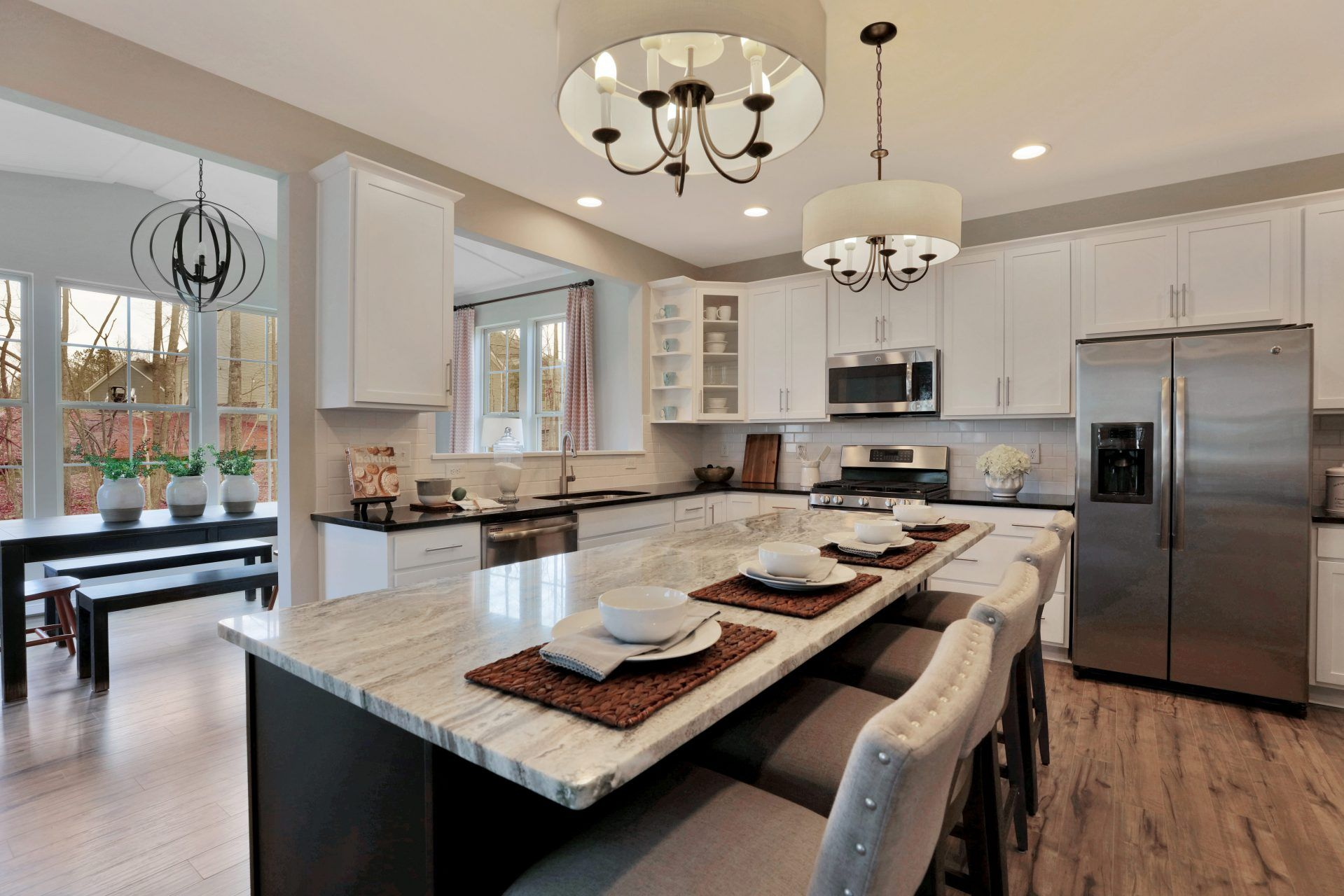 Kitchen featured in the Jarvis By HHHunt Homes LLC in Richmond-Petersburg, VA