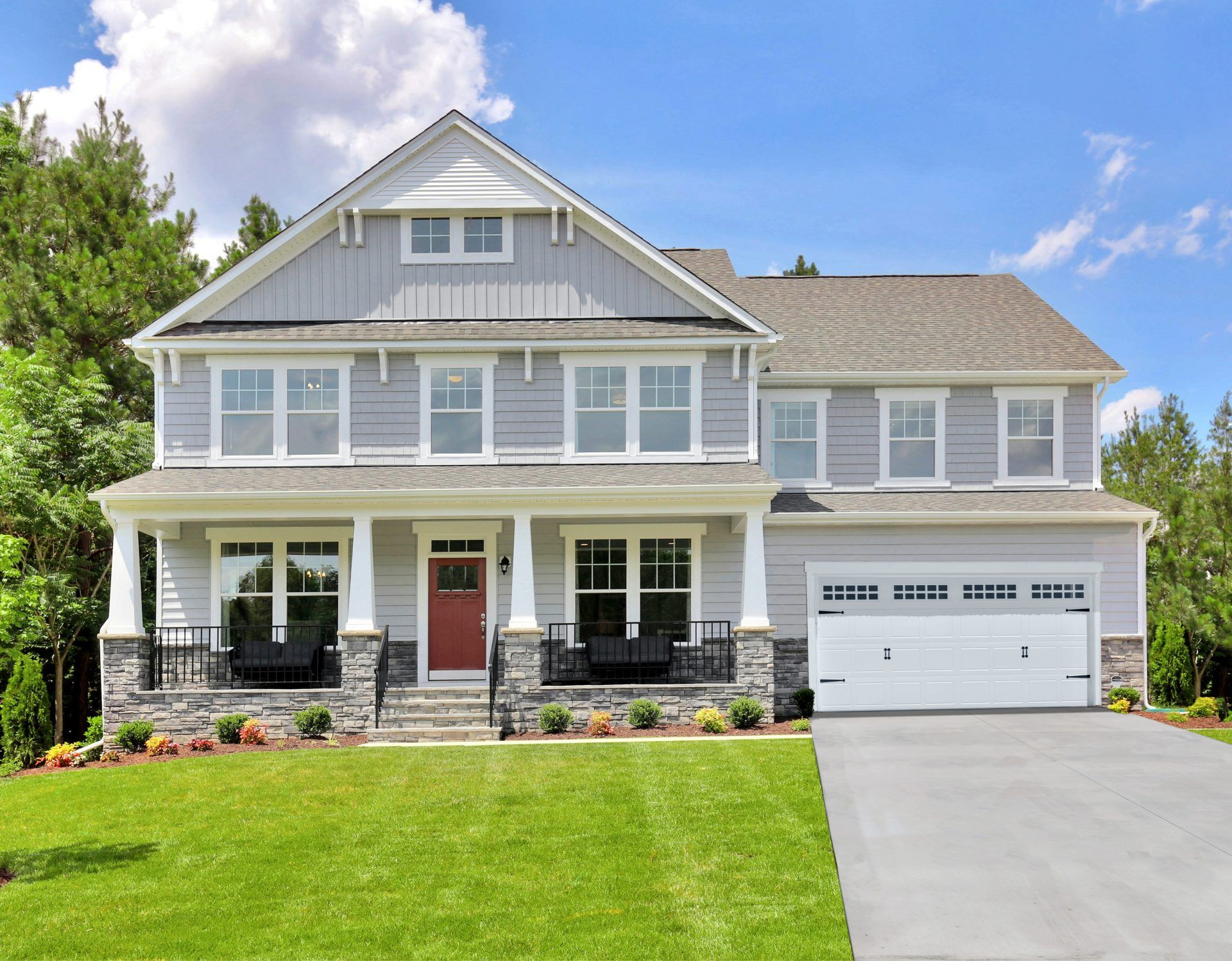 Exterior featured in the Caldwell By HHHunt Homes LLC in Richmond-Petersburg, VA