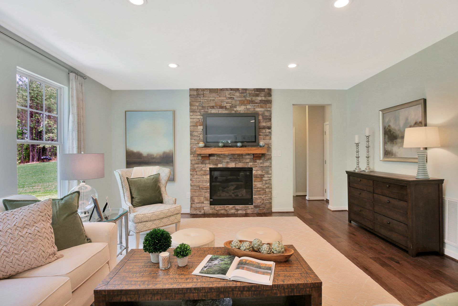 Living Area featured in the Caldwell By HHHunt Homes LLC in Richmond-Petersburg, VA