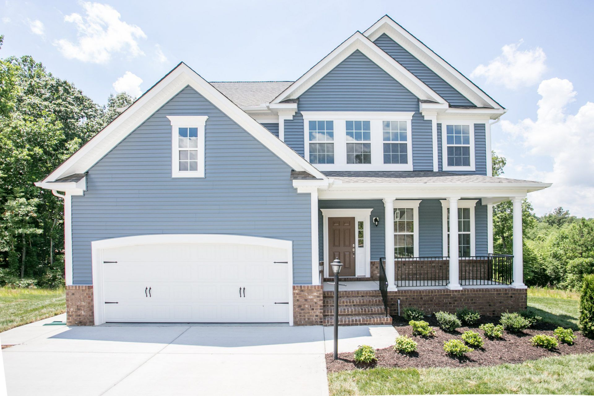 Exterior featured in the Grayson By HHHunt Homes LLC in Richmond-Petersburg, VA