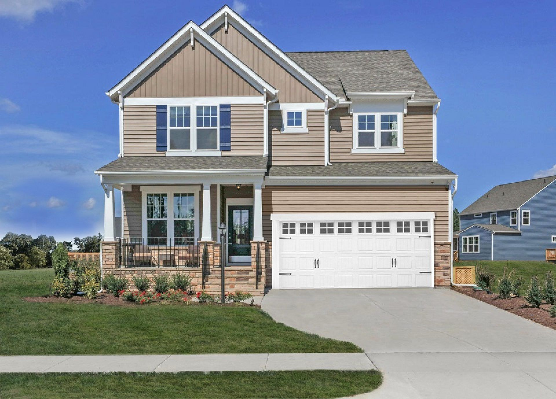 Exterior featured in the Morgan By HHHunt Homes LLC in Richmond-Petersburg, VA