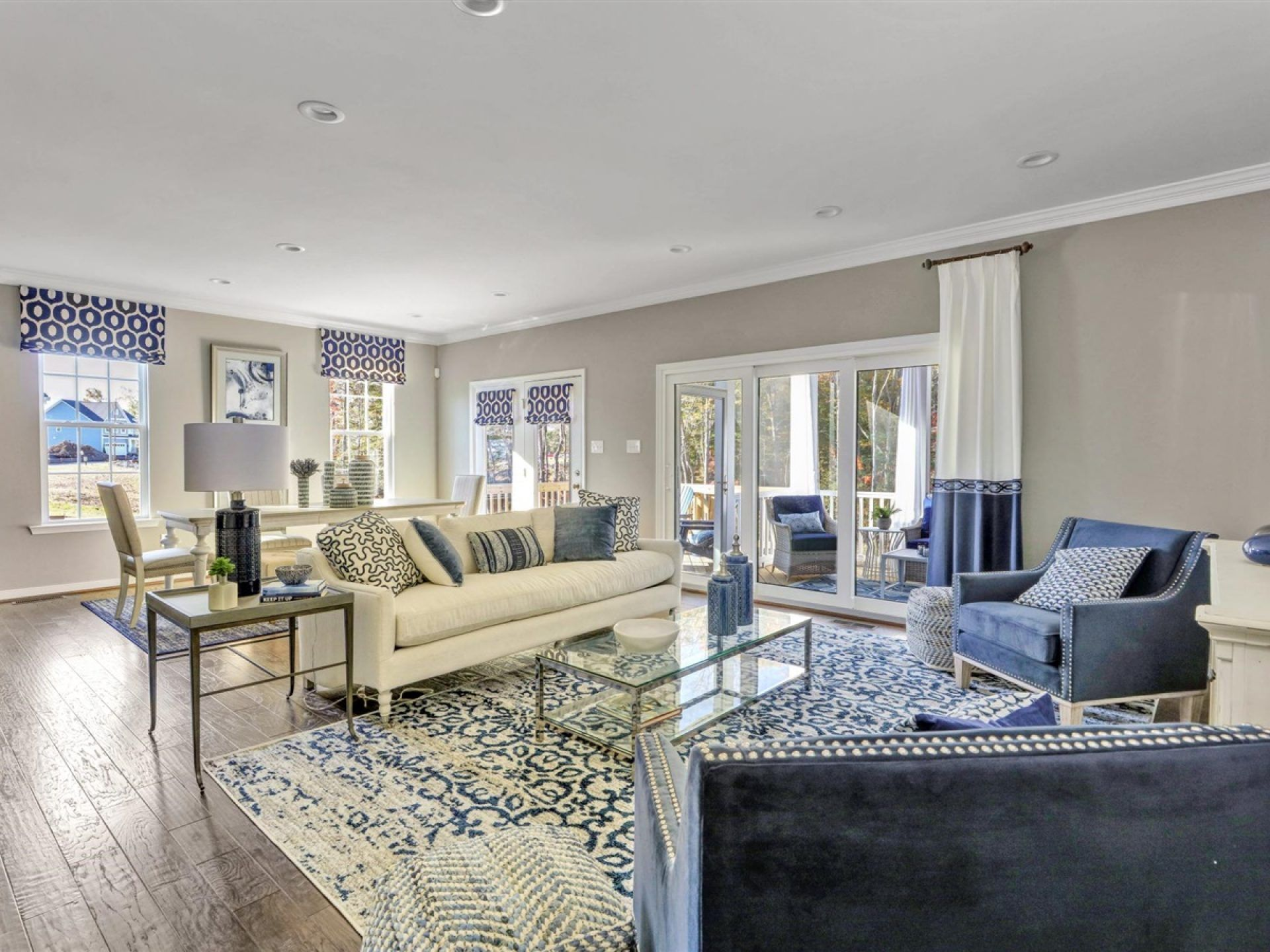 Living Area featured in the Kelsey By HHHunt Homes LLC in Richmond-Petersburg, VA