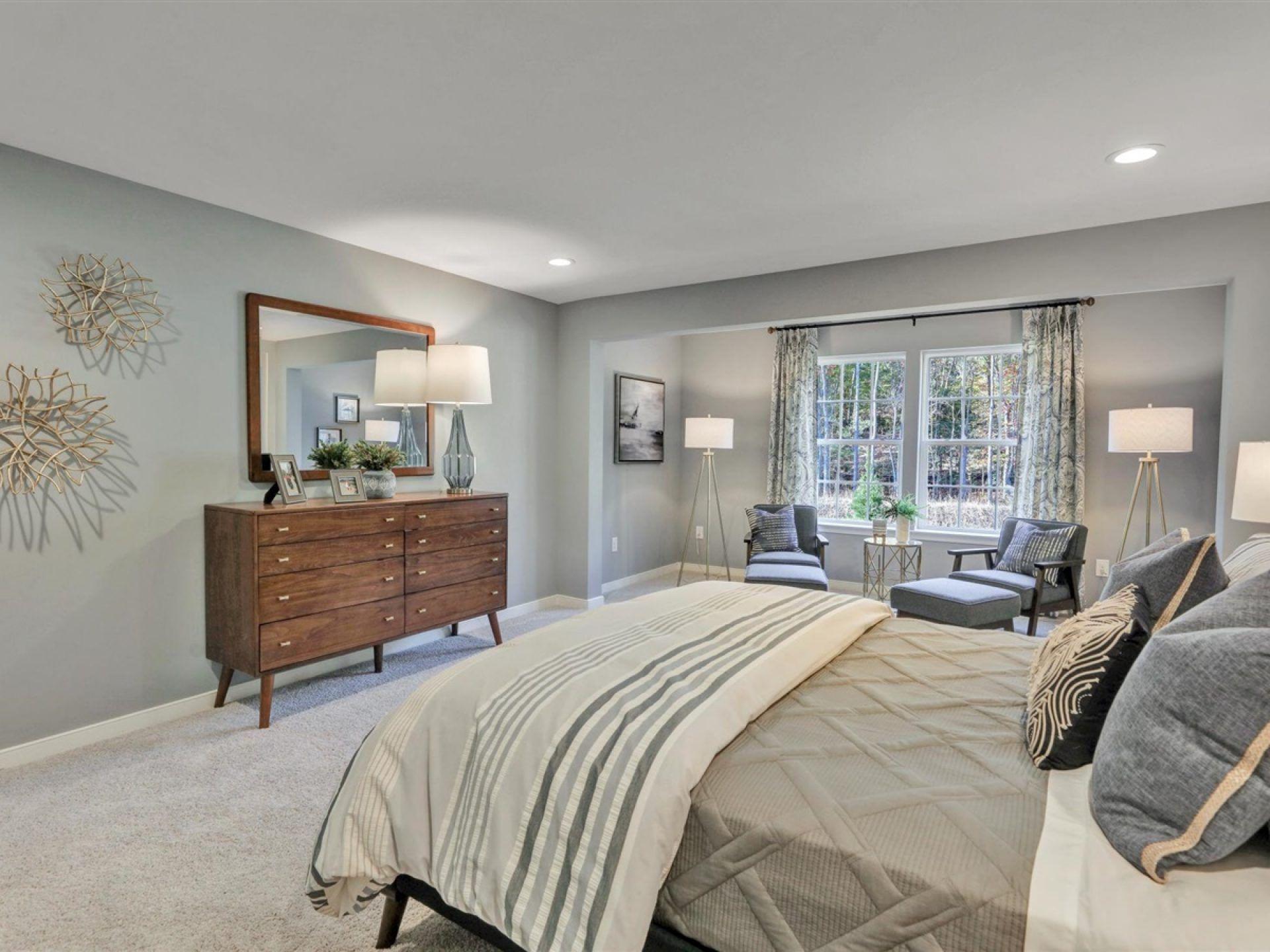 Bedroom featured in the Kelsey By HHHunt Homes LLC in Richmond-Petersburg, VA