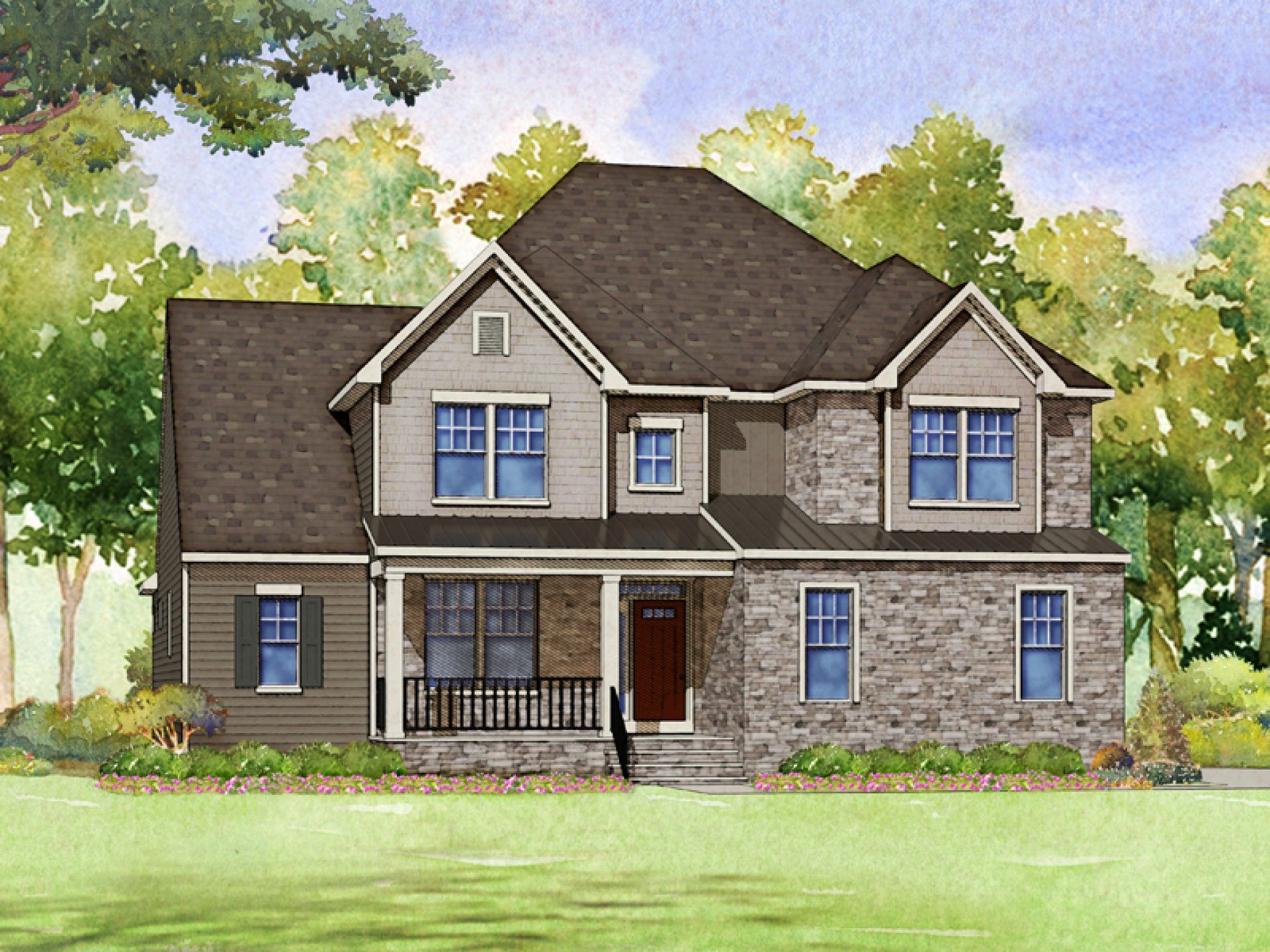 Exterior featured in the Galloway By HHHunt Homes LLC in Raleigh-Durham-Chapel Hill, NC