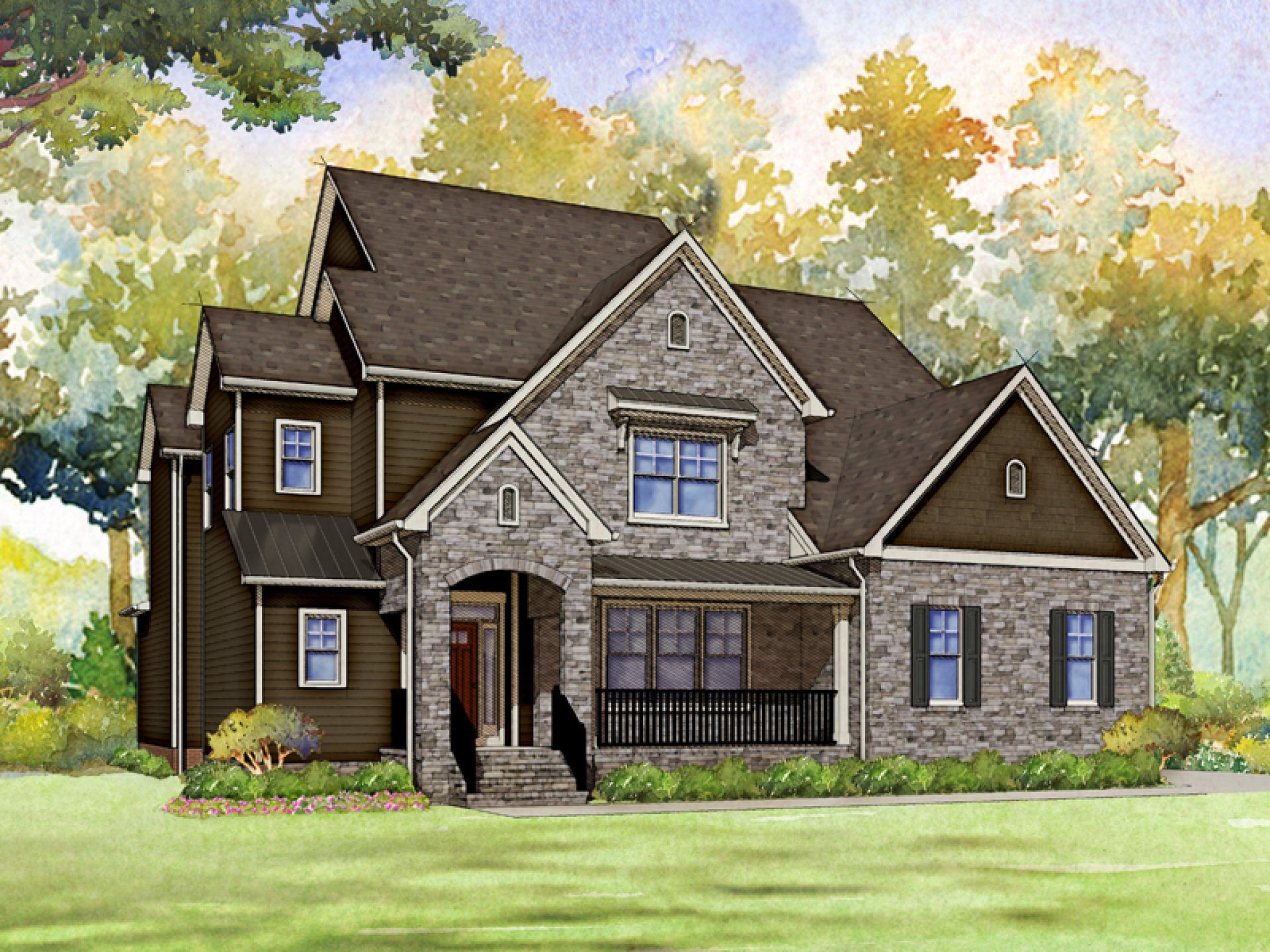Exterior featured in the Wellington By HHHunt Homes LLC in Raleigh-Durham-Chapel Hill, NC