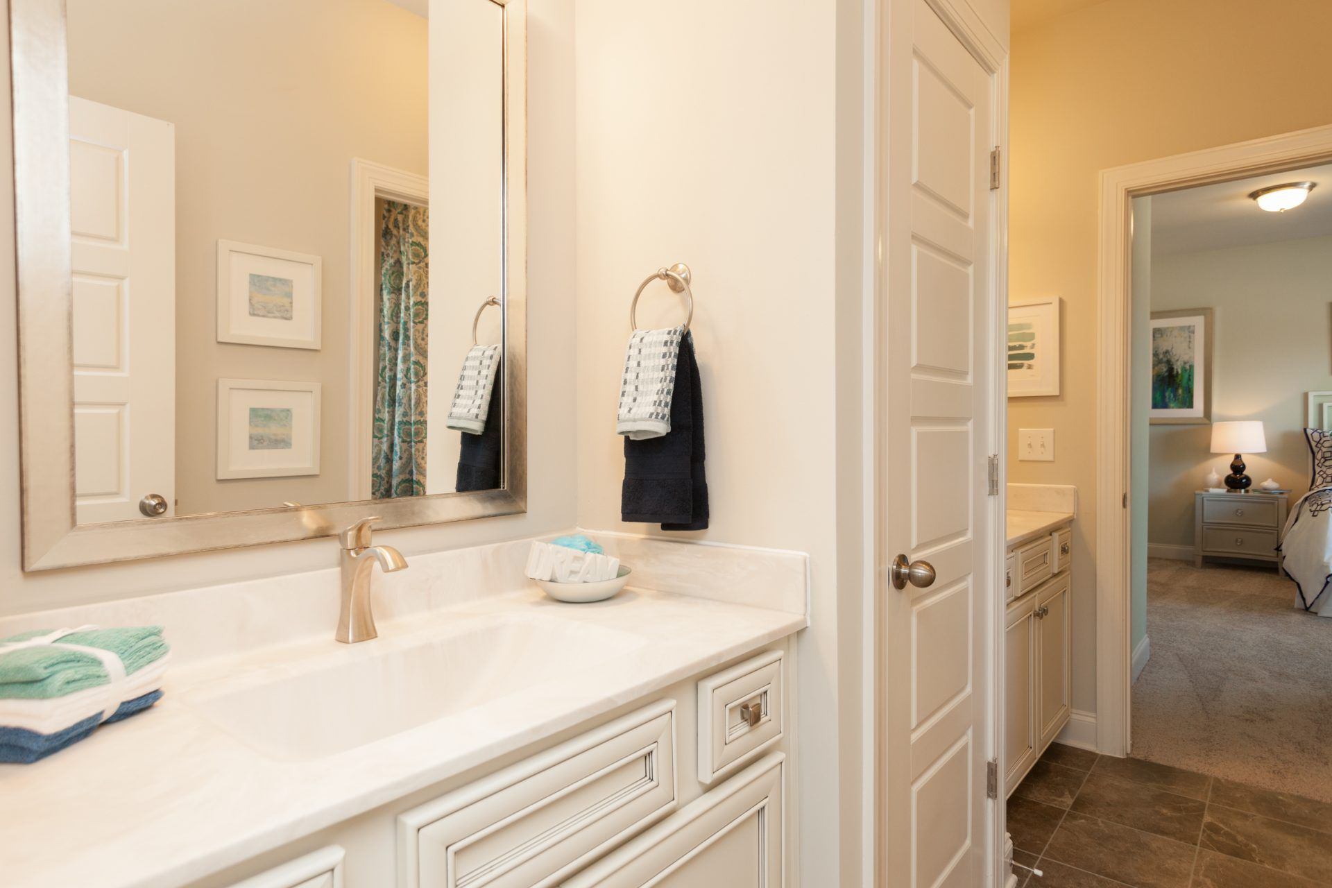Bathroom featured in the Latham By HHHunt Homes LLC in Raleigh-Durham-Chapel Hill, NC
