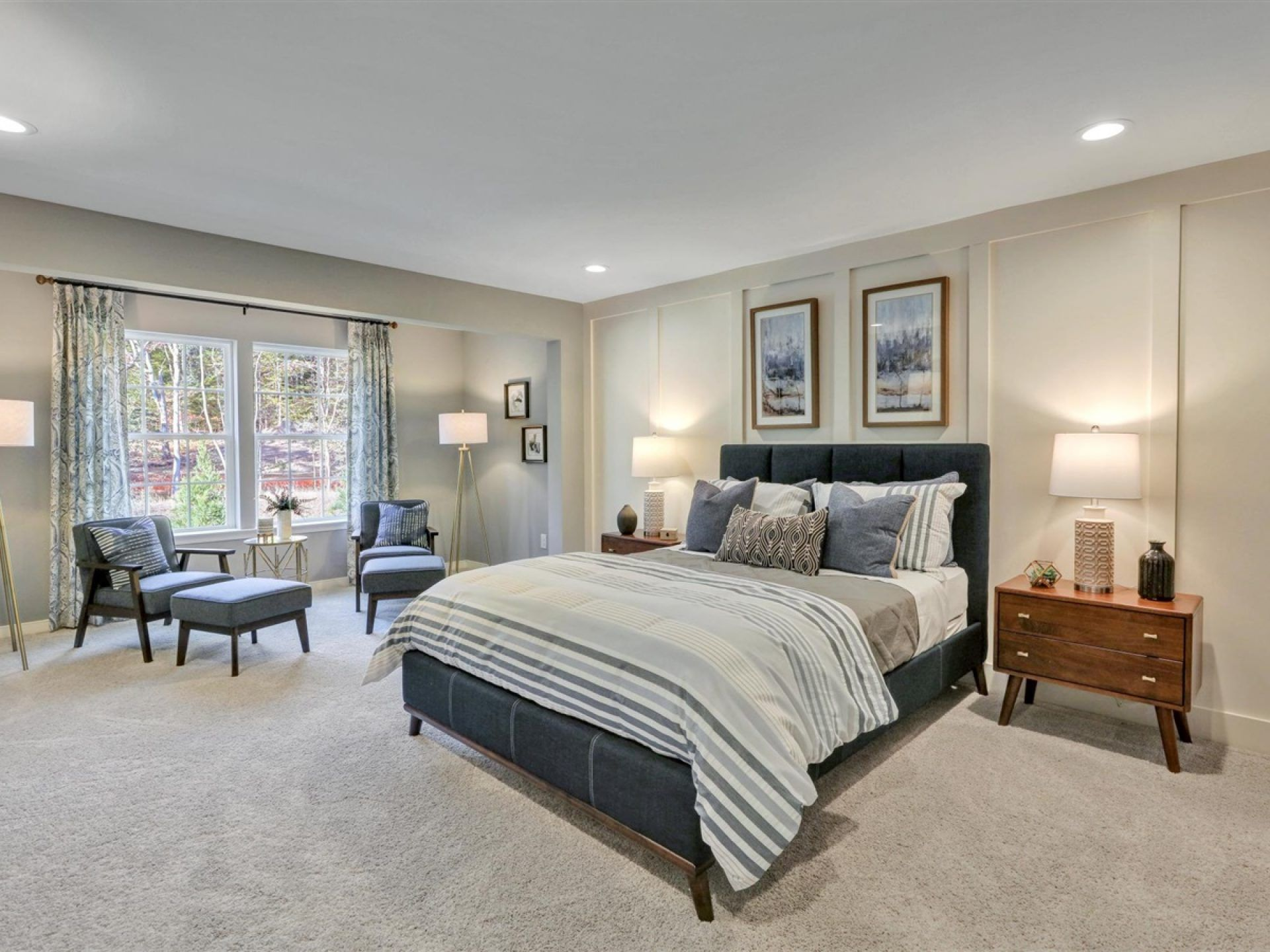 Bedroom featured in the Kelsey By HHHunt Homes LLC in Richmond-Petersburg, VA
