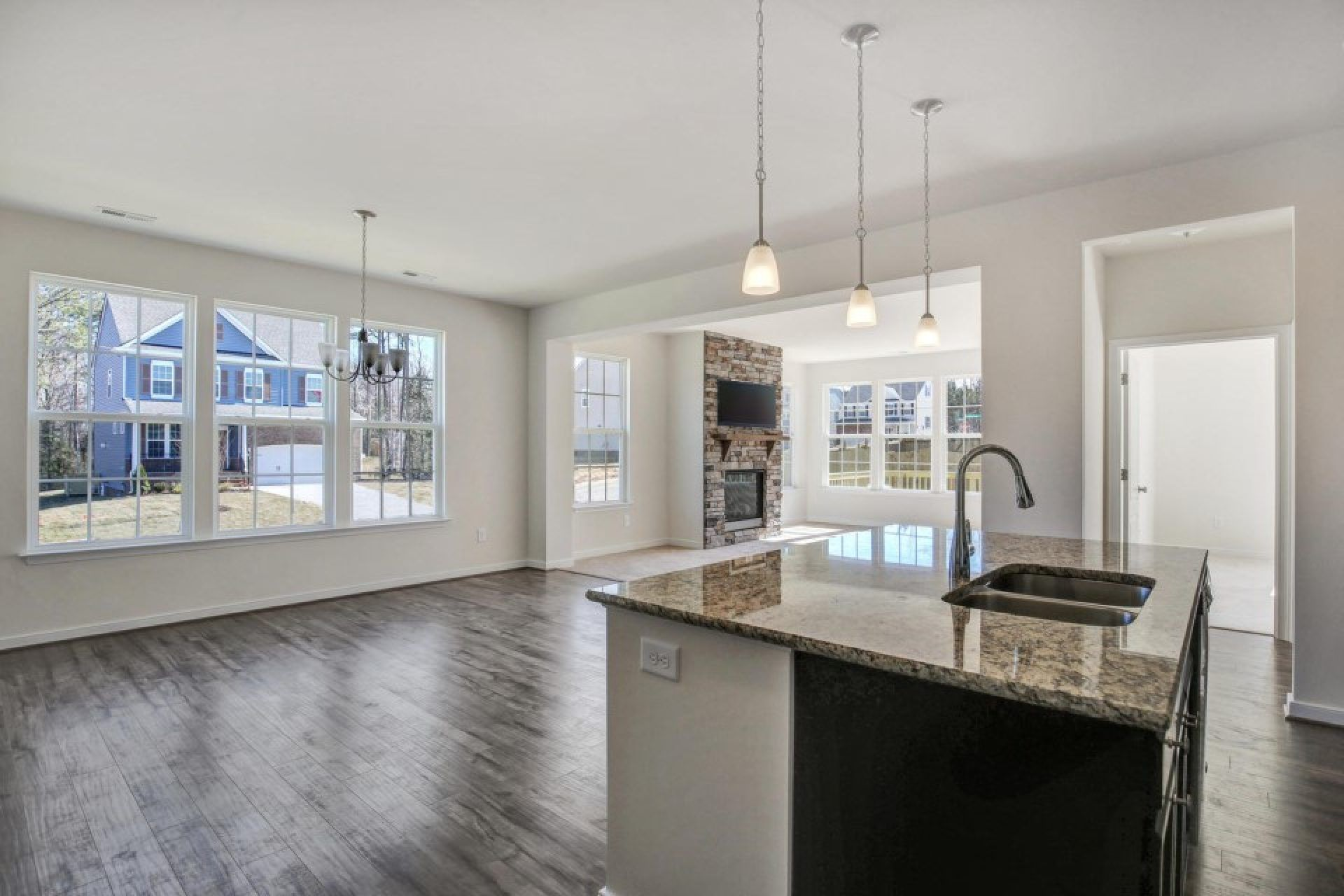 Kitchen featured in the Taylor By HHHunt Homes LLC in Richmond-Petersburg, VA