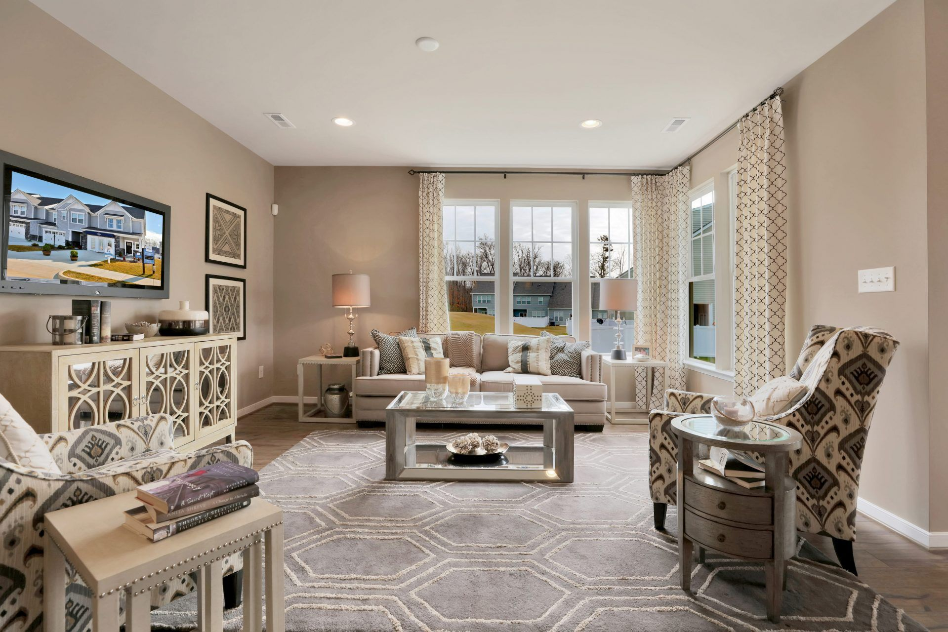 Living Area featured in the Shelton By HHHunt Homes LLC in Richmond-Petersburg, VA
