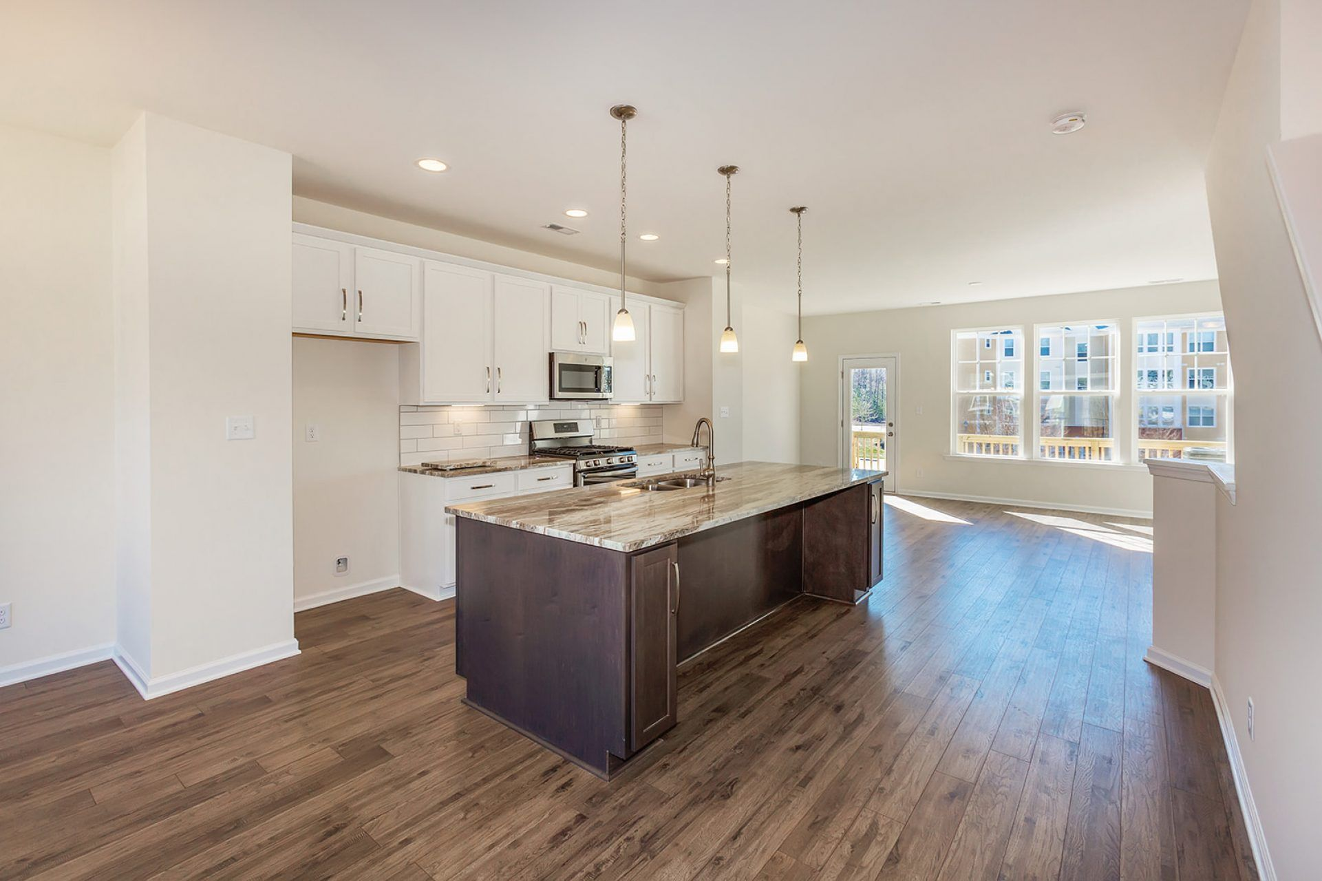 Kitchen featured in the Carmichael By HHHunt Homes LLC in Norfolk-Newport News, VA