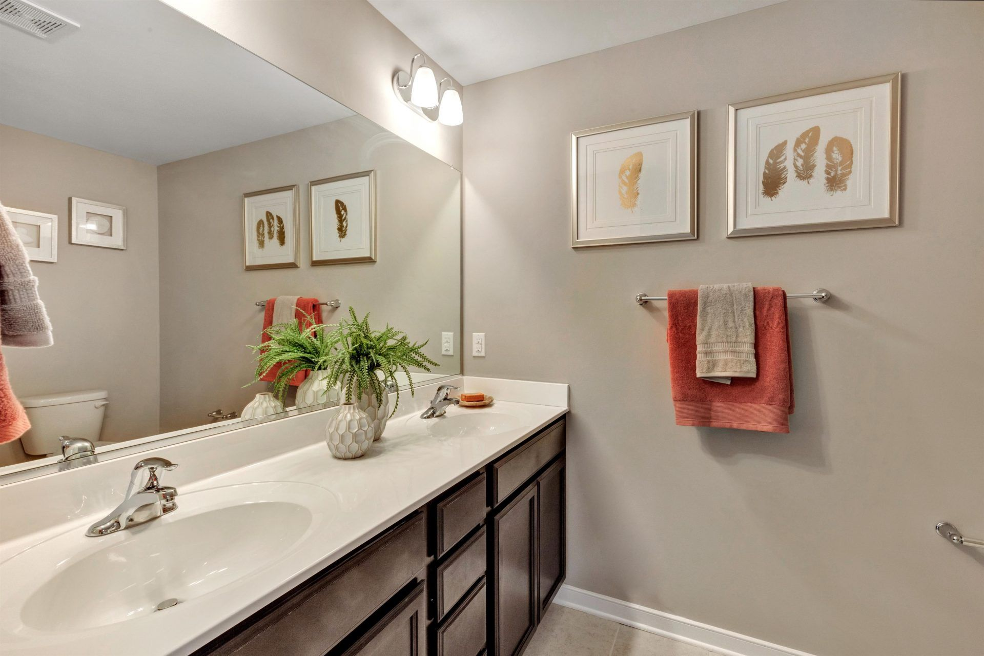 Bathroom featured in the King By HHHunt Homes LLC in Norfolk-Newport News, VA
