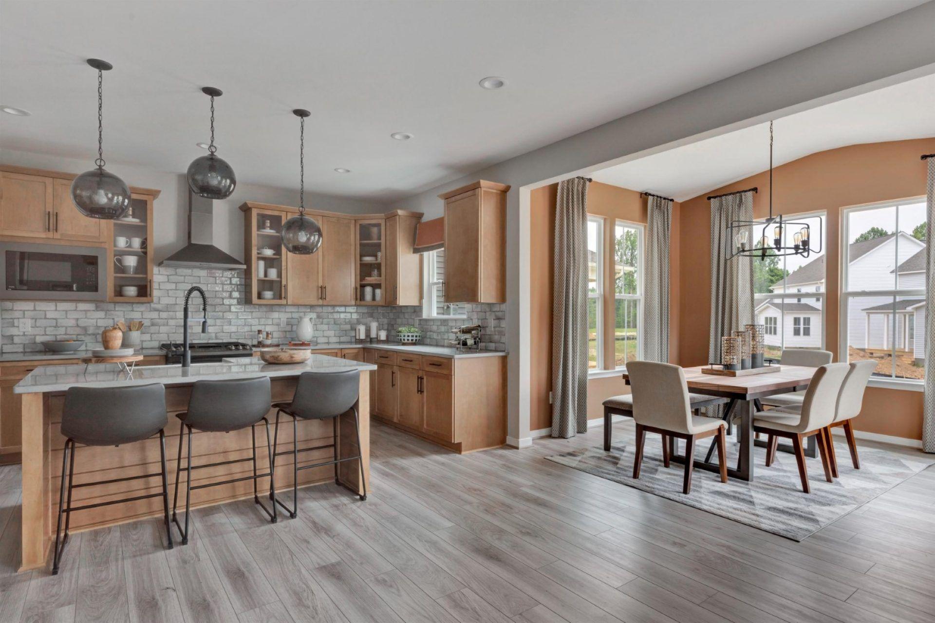 Kitchen featured in the Glenwood By HHHunt Homes LLC in Richmond-Petersburg, VA
